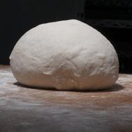 Fresh dough uncooked
