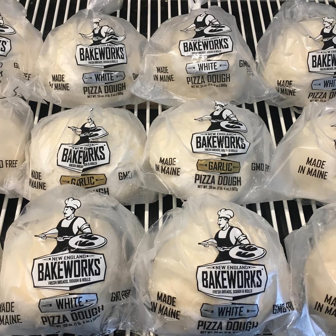 fresh dough packaged